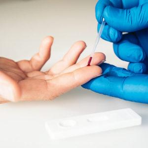Test rápido anticuerpos